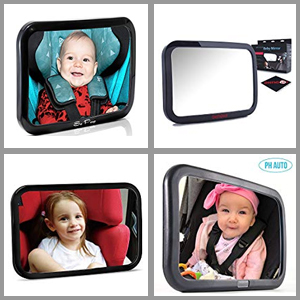 Best rear facing baby car mirror